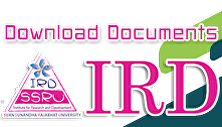 Download Documents IRD