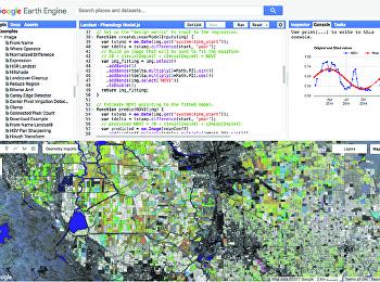 การใช้ประโยชน์จากGoogle Earth Engine ด้านสิ่งแวดล้อมและผังเมือง