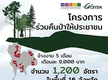 โครงการร่วมคืนป่าให้ประชาชน